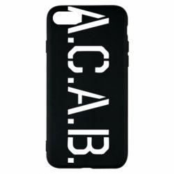 Чохол для iPhone 7 A.C.A.B.