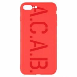 Чохол для iPhone 7 Plus A.C.A.B.