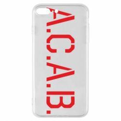 Чохол для iPhone 8 Plus A.C.A.B.