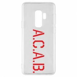 Чохол для Samsung S9+ A.C.A.B.