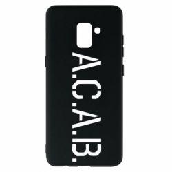 Чохол для Samsung A8+ 2018 A.C.A.B.