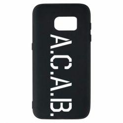 Чохол для Samsung S7 A.C.A.B.