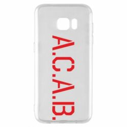 Чохол для Samsung S7 EDGE A.C.A.B.