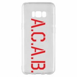 Чохол для Samsung S8+ A.C.A.B.