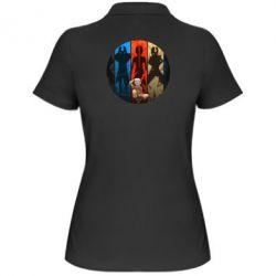 Женская футболка поло Aang Art