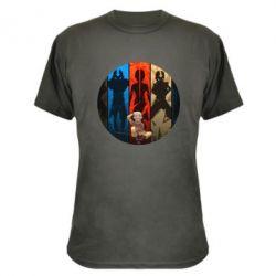Камуфляжная футболка Aang Art