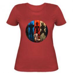 Женская футболка Aang Art
