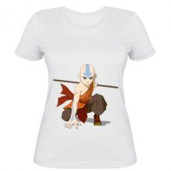 Женская футболка Аанг