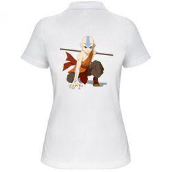 Женская футболка поло Аанг