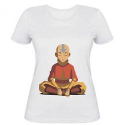 Женская футболка Aang