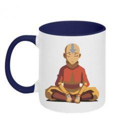 Кружка двухцветная Aang
