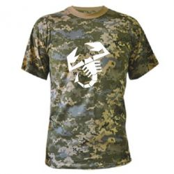 Камуфляжная футболка Abarth