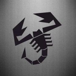 Наклейка Abarth - FatLine