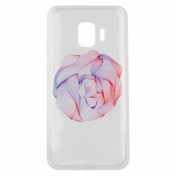 Чехол для Samsung J2 Core Abstract rose from the lines