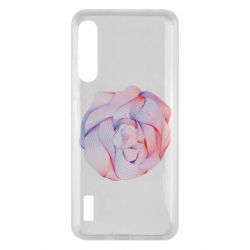 Чохол для Xiaomi Mi A3 Abstract rose from the lines