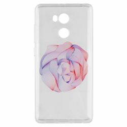 Чехол для Xiaomi Redmi 4 Pro/Prime Abstract rose from the lines