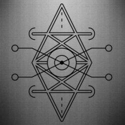 Наклейка Abstract Symbol 4