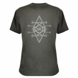 Камуфляжна футболка Abstract Symbol 4