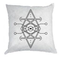 Подушка Abstract Symbol 4