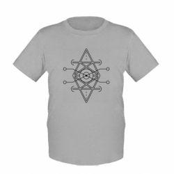 Дитяча футболка Abstract Symbol 4