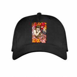 Детская кепка AC DC Art Banner - FatLine