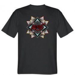 Мужская футболка AC/DC Art Logo - FatLine