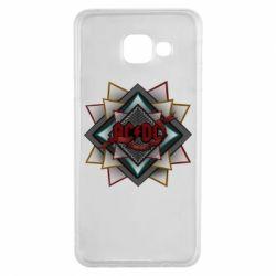 Купить Чехол для Samsung A3 2016 AC/DC Art Logo, FatLine