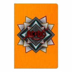 Блокнот А5 AC/DC Art Logo