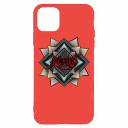 Чехол для iPhone 11 Pro AC/DC Art Logo