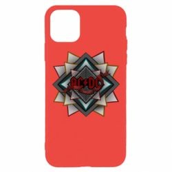 Чехол для iPhone 11 Pro Max AC/DC Art Logo