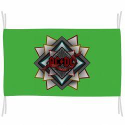 Флаг AC/DC Art Logo