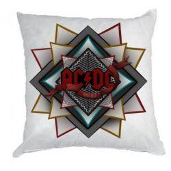 Подушка AC/DC Art Logo - FatLine