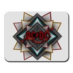 Коврик для мыши AC/DC Art Logo - FatLine