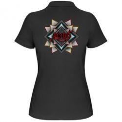 Женская футболка поло AC/DC Art Logo - FatLine