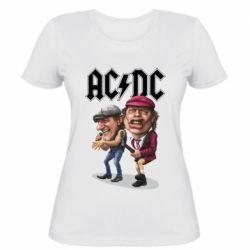 Женская футболка AC/DC Art
