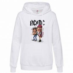 Женская толстовка AC/DC Art