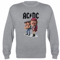 Реглан (свитшот) AC/DC Art
