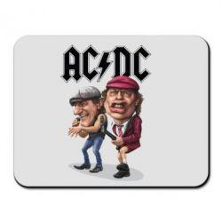 Килимок для миші AC/DC Art