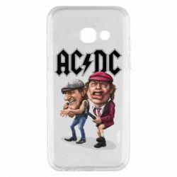 Купить Чехол для Samsung A3 2017 AC/DC Art, FatLine