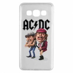 Купить Чехол для Samsung A3 2015 AC/DC Art, FatLine