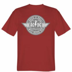 Мужская футболка AC/DC gray