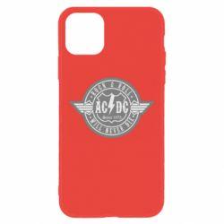 Чехол для iPhone 11 AC/DC gray