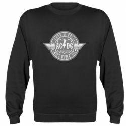 Реглан (свитшот) AC/DC gray