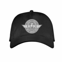 Детская кепка AC/DC gray
