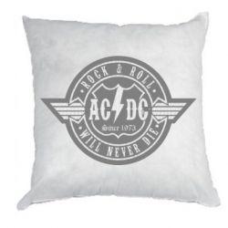 Подушка AC/DC gray