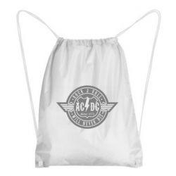 Рюкзак-мешок AC/DC gray