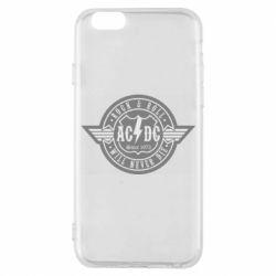 Чехол для iPhone 6/6S AC/DC gray