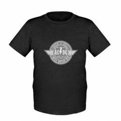 Детская футболка AC/DC gray