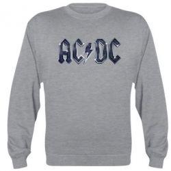 Реглан (свитшот) AC/DC Logo - FatLine