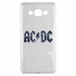 Чехол для Samsung A5 2015 AC/DC Logo